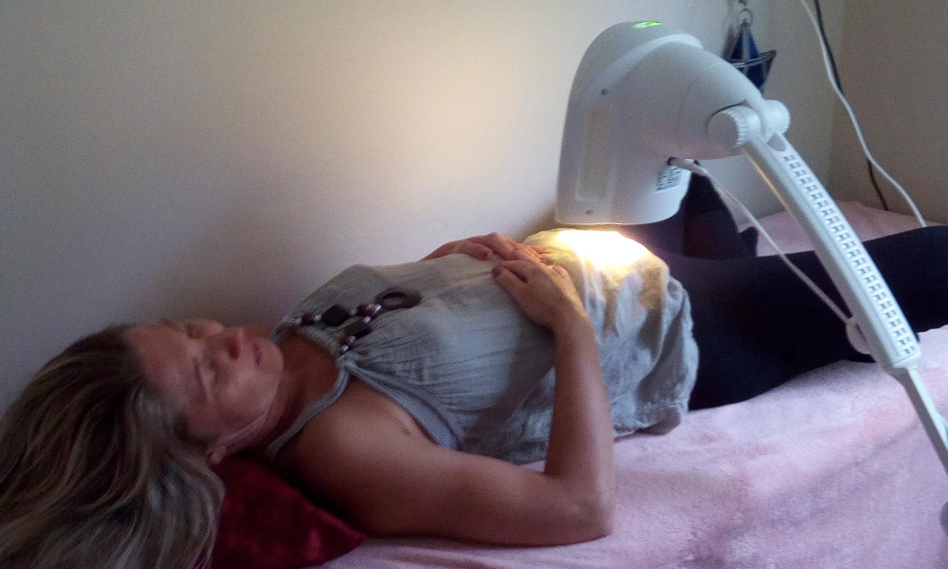 Bioptron lámpás fényterápia